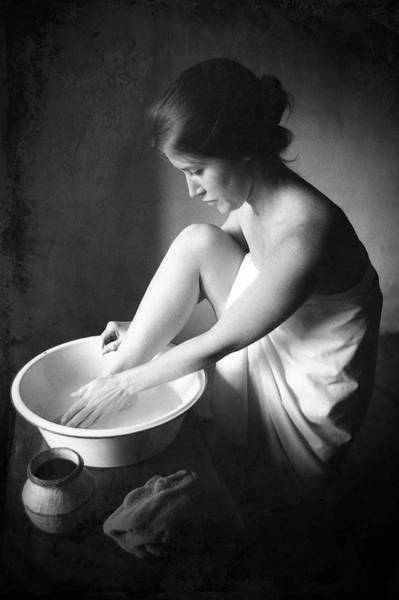 Photograph - Footwasher by Jennifer Wright