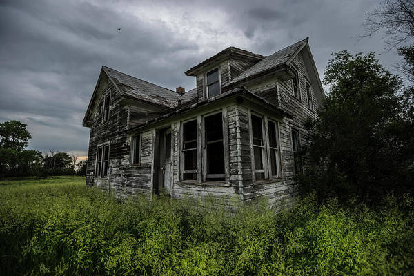 Bird House Photograph - Forgotten by Aaron J Groen