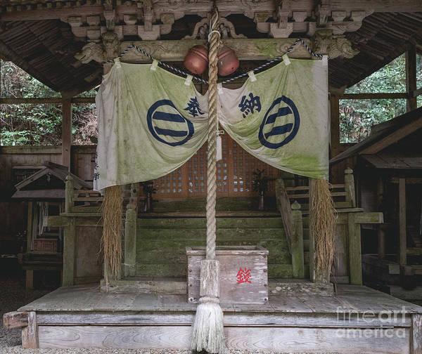 Forrest Shrine, Japan Art Print