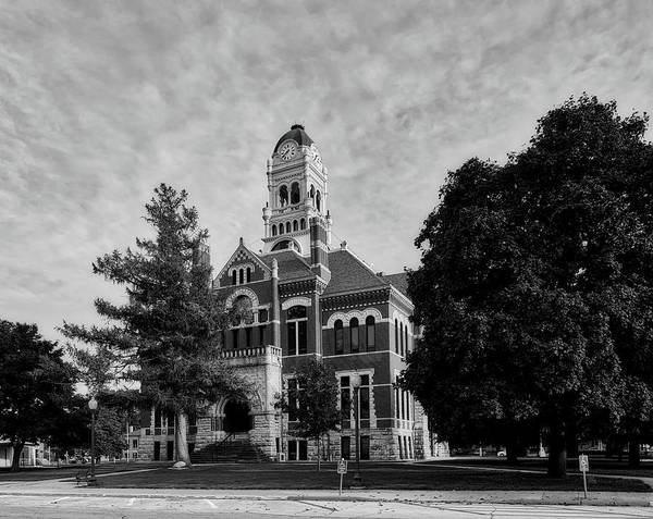Courthouse Towers Wall Art - Photograph - Franklin County Courthouse - Hampton Iowa by Mountain Dreams