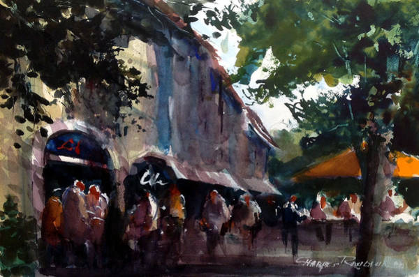 Painting - French Market by Charles Rowland