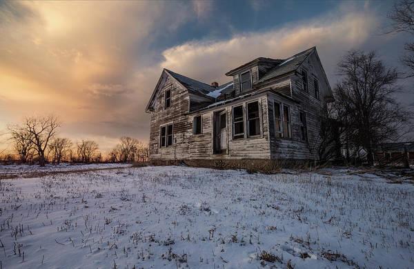 Photograph - Frozen And Forgotten by Aaron J Groen