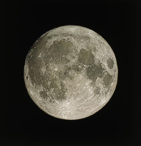 Wall Art - Photograph - Full Moon by Eckhard Slawik