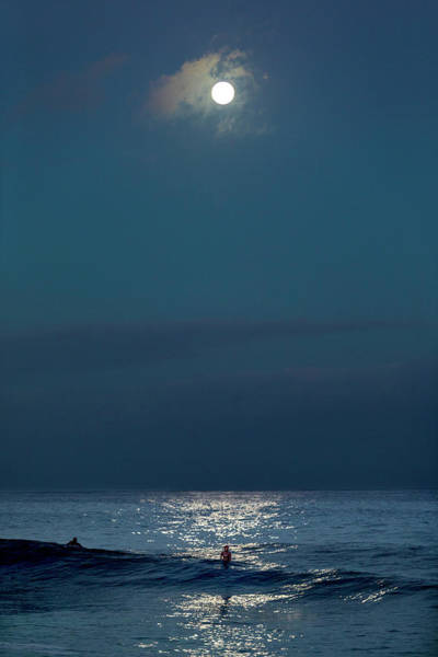 Wall Art - Photograph - Full Moon Shimmer. by Sean Davey