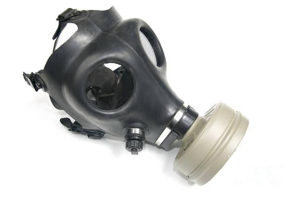 Gasmask Photograph - Gas Mask  by Ilan Rosen