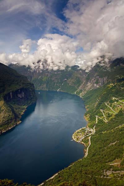 Photograph - Geirangerfjord by Aivar Mikko