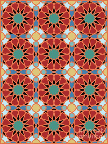 Digital Art - Geometric Pattern by Ariadna De Raadt