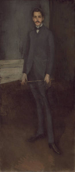 Painting - George W. Vanderbilt by James McNeill Whistler
