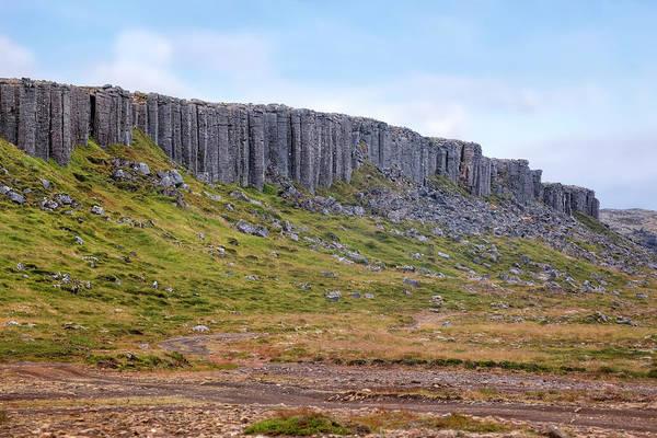 Basalt Columns Photograph - Gerduberg Cliffs - Iceland by Joana Kruse