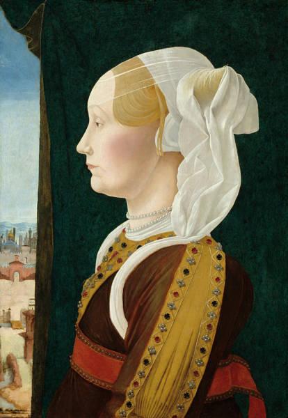 Painting - Ginevra Bentivoglio by Ercole de' Roberti