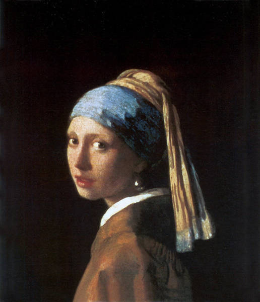 Wall Art - Photograph - Girl With A Pearl Earring by Jan Vermeer