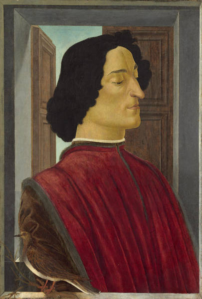 Painting - Giuliano De' Medici by Sandro Botticelli