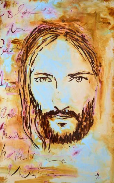 Wall Art - Mixed Media - God Loves You by Ivan Guaderrama