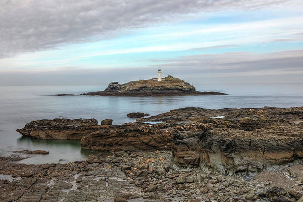 Ives Photograph - Godrevy Lighthouse - England by Joana Kruse