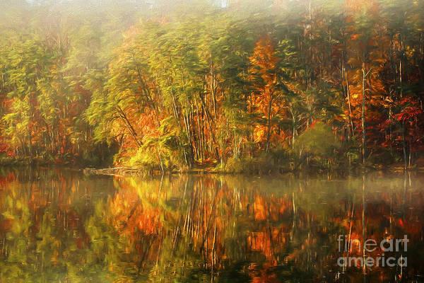 Digital Effect Photograph - Golden by Darren Fisher
