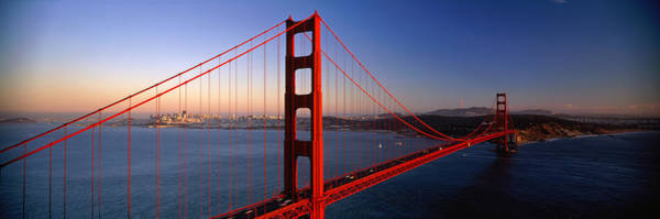 San Francisco Harbor Photograph - Golden Gate Bridge San Francisco Ca by Panoramic Images