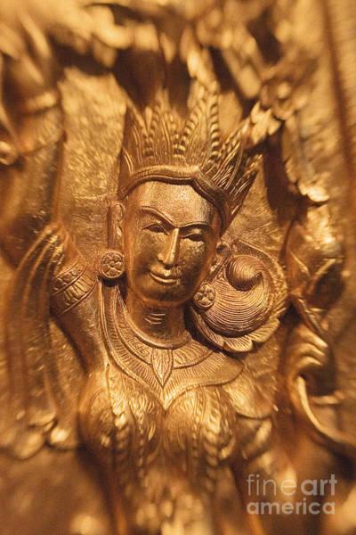 Adorn Photograph - Golden Sculpture by Ron Dahlquist - Printscapes