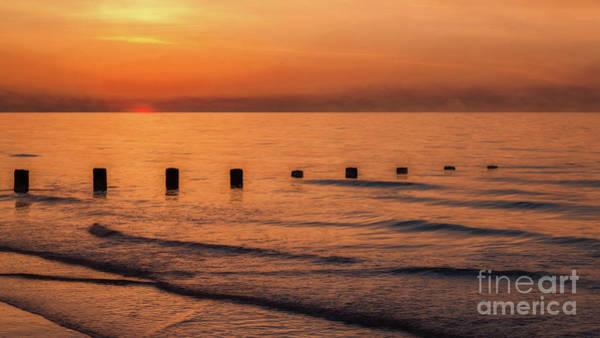 Wall Art - Photograph - Golden Sunset by Adrian Evans