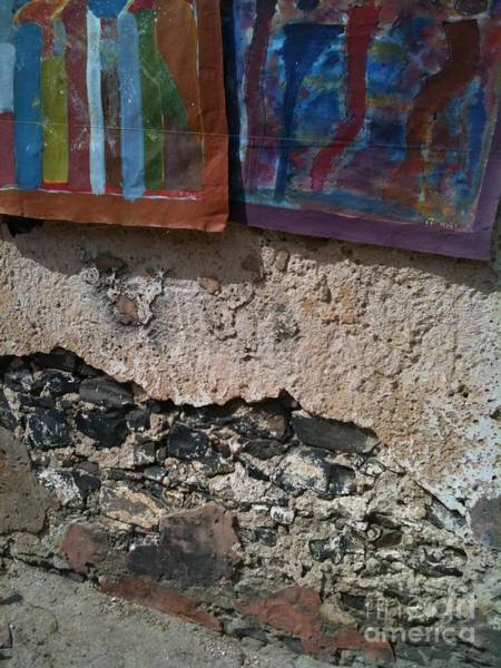 Dakar Photograph - Goree Texture  by Fania Simon