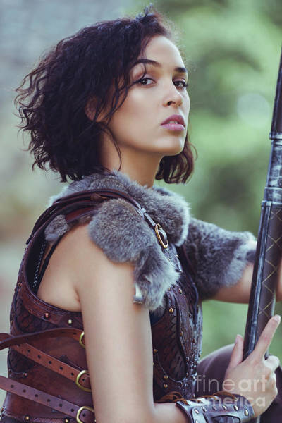 Cosplay Photograph - Got Warrior Princess by Amanda Elwell