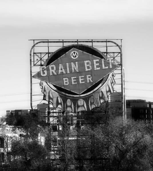 Wall Art - Photograph - Grain Belt Beer by Mountain Dreams