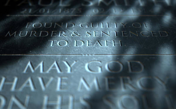 Mercy Wall Art - Digital Art - Gravestone Of Convicted Murderer by Allan Swart