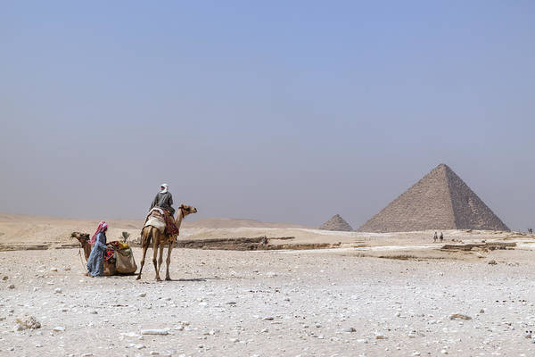 Orient Photograph - Great Pyramids Of Giza - Egypt by Joana Kruse