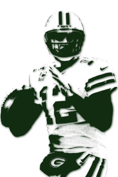 Aaron Rodgers Wall Art - Photograph - Green Bay Packers Aaron Rodgers by Joe Hamilton
