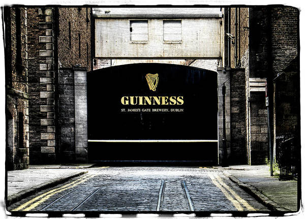 Eire Photograph - Guinness by David Harding