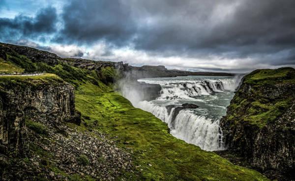 Wall Art - Photograph - Gullfoss Waterfall by Angela Aird