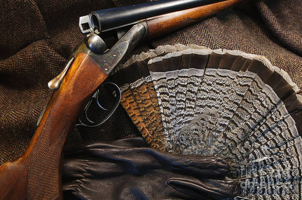 Ruffed Grouse Photograph - Gun Still Life by Chip Laughton