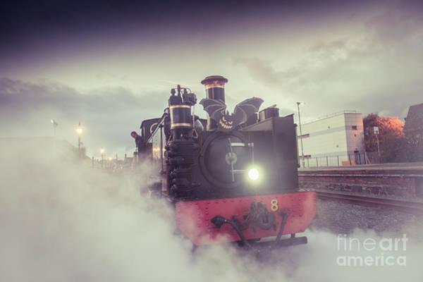 Photograph - Halloween Special - Vale Of Rheidol Railway by Keith Morris