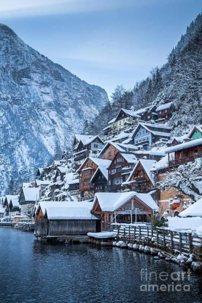 Wall Art - Photograph - Hallstatt Winter Dreams by JR Photography