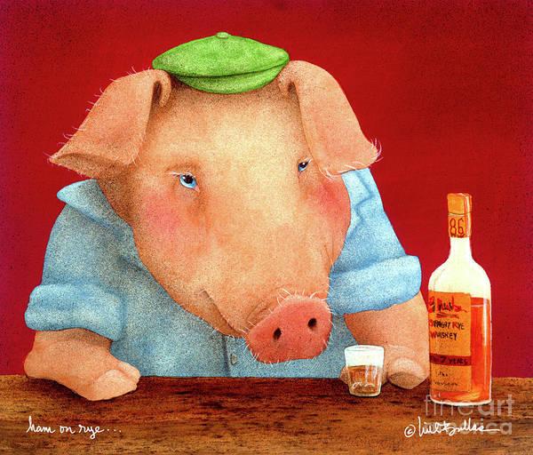 Ham On Rye... Art Print
