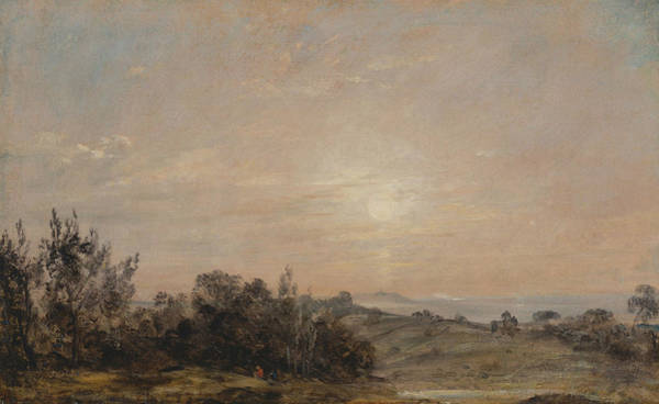 Painting - Hampstead Heath Looking Towards Harrow by John Constable