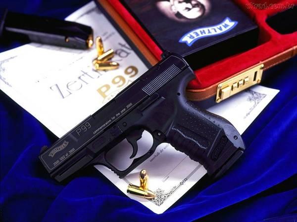Handguns Photograph - Handgun by Jackie Russo
