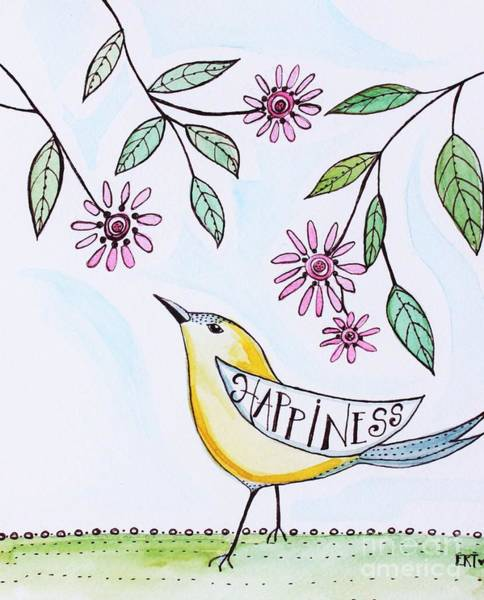 Painting - Happiness by Elizabeth Robinette Tyndall