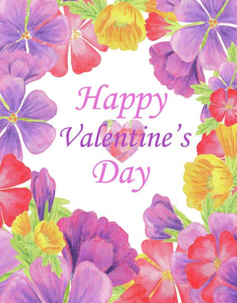 Painting - Happy Valentines Day by Irina Sztukowski