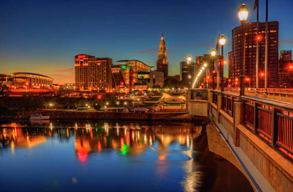 Wall Art - Photograph - Hartford Connecticut Sunset by Craig Fildes