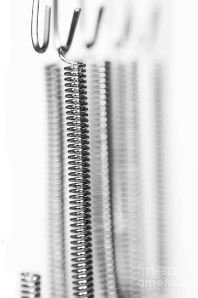 Wall Art - Photograph - Heating Spiral - Electric Light Filament by Michal Boubin
