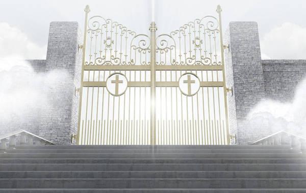 Majestic Digital Art - Heavens Gates by Allan Swart