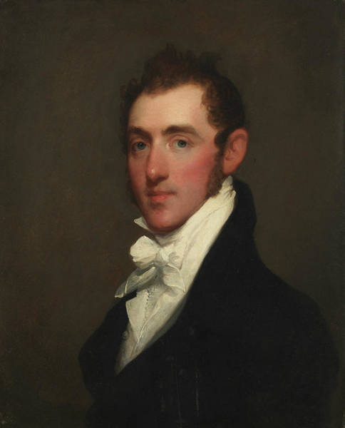 Painting - Henry Rice by Gilbert Stuart