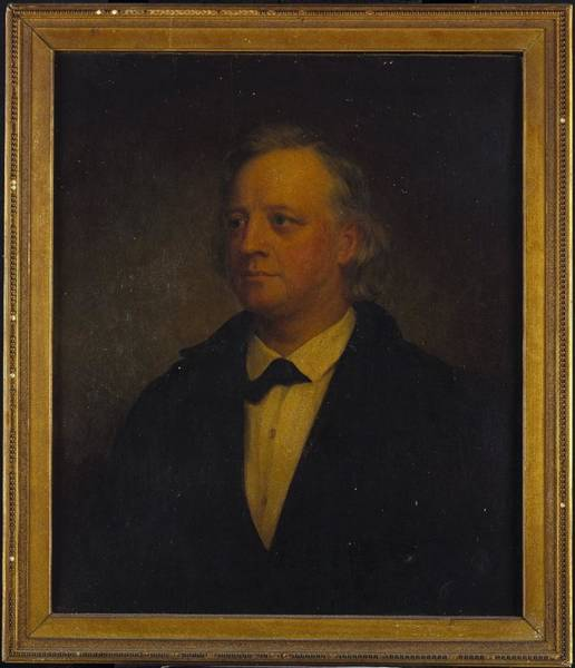 Wall Art - Painting - Henry Ward Beecher by George Augustus