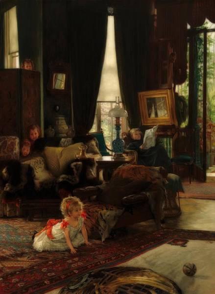 Seek Painting - Hide And Seek by James Tissot