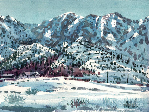 Sierra Nevada Painting - High Sierra by Donald Maier