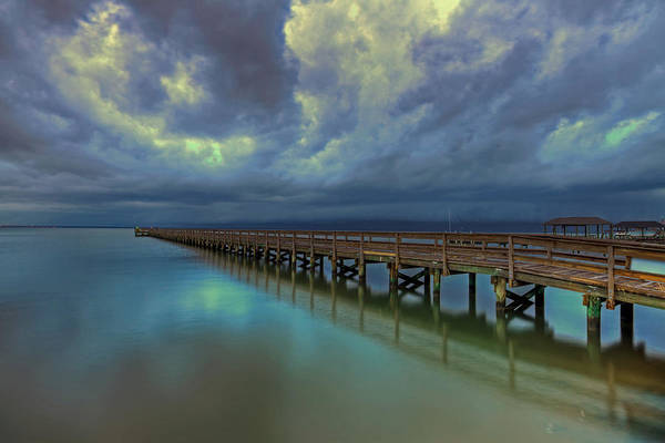 Photograph - Hilton Pier by Jerry Gammon