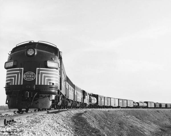 Wall Art - Photograph - Historic Freight Train by Omikron