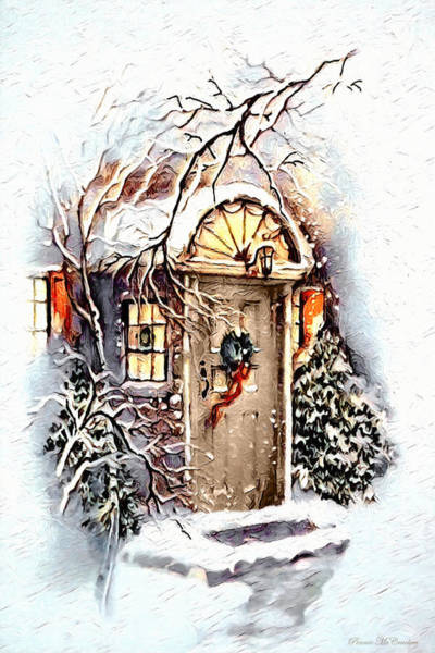 Digital Art - Home For Christmas by Pennie McCracken