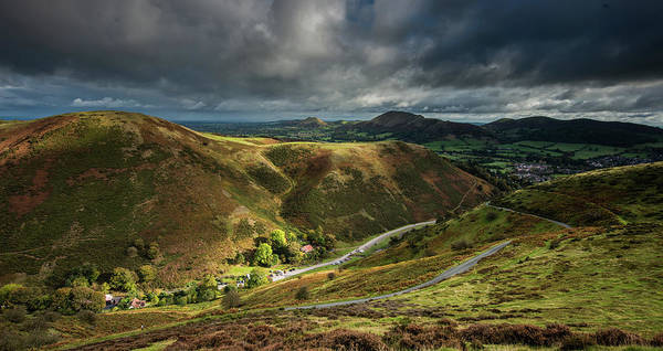 Church Stretton Wall Art - Photograph - Hope Bowdler Landascape by Nigel Forster