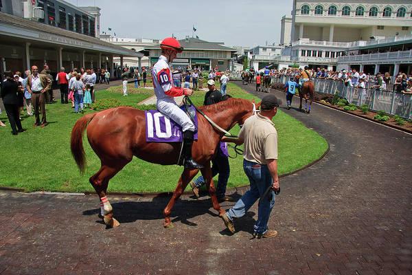Photograph - Horse Racing by Jill Lang
